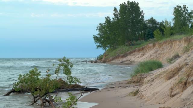 Great Lakes Beach Erosion video