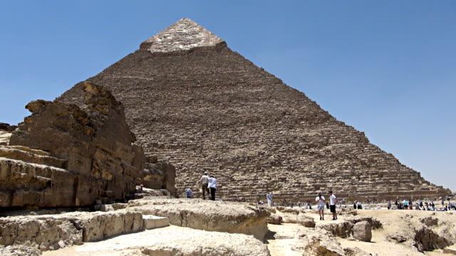 Great Pyramid of Giza - Cairo, Egypt video