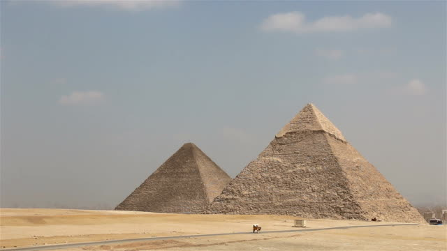 Great Pyramid of Giza. Egypt video