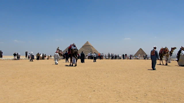 Great Pyramids - Cairo, Egypt video