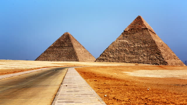 Great Pyramids of Giza Cairo Egypt video