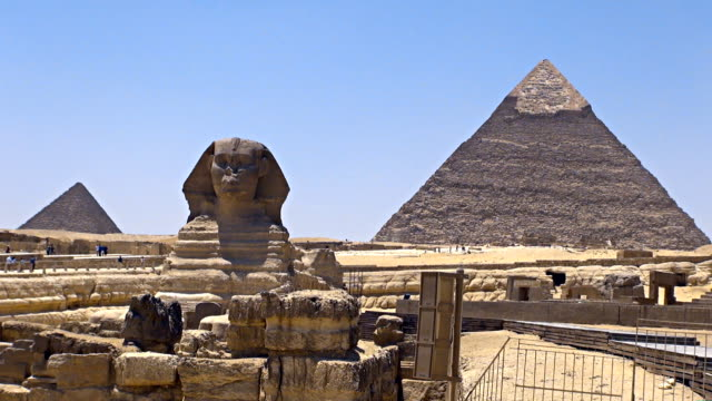 Great Sphinx - Cairo, Egypt video
