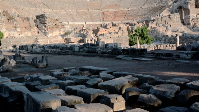 Great Theater, Ephesus ancient city, Selcuk, Izmir Province, Turkey video