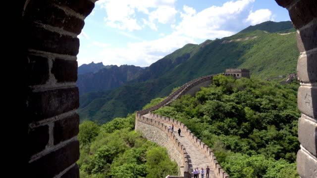 Great Wall of China video