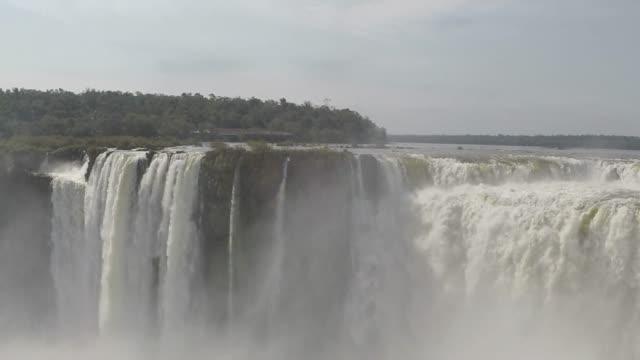 great waterfall - obiekt światowego dziedzictwa unesco filmów i materiałów b-roll