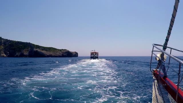Greece Sea Boat video