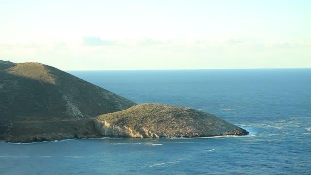 greek coastline on peloponnese, mani peninsula time lapse - пелопоннес стоковые видео и кадры b-roll