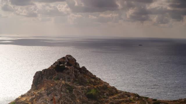 greek coastline on peloponnese, mani peninsula - пелопоннес стоковые видео и кадры b-roll