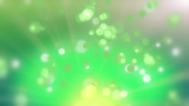 Green Abstract background video