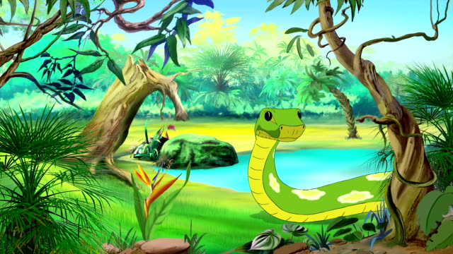 Green Anaconda video