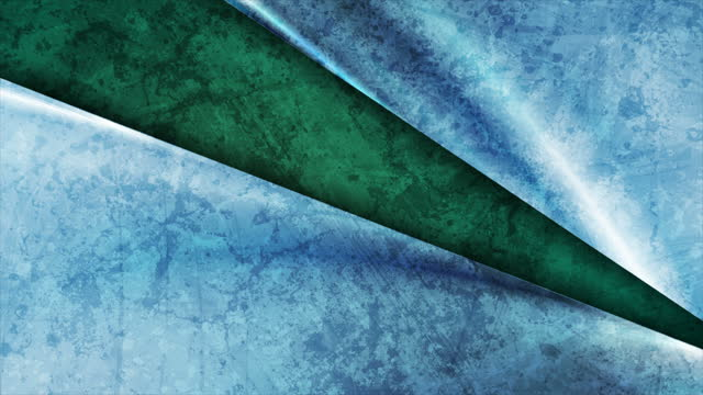 Green and blue grunge glossy motion background