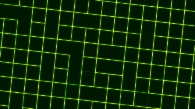 Green animated patterned background Green animated patterned background with square cells computer rendering multiple image stock videos & royalty-free footage