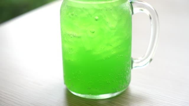 green apple soda video
