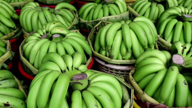 Green Banana Thai Market Thailand video