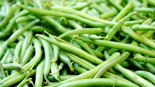 green beans green beans on a market stand christmas stocking stock videos & royalty-free footage