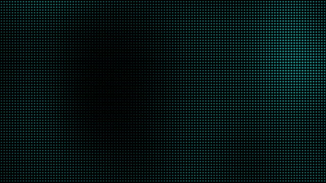 Green Blue Halftone Dots Motion Background