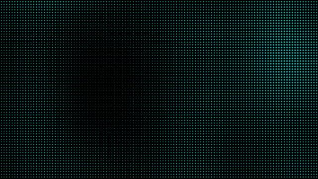 stockvideo's en b-roll-footage met groene blauwe halftone stippen beweging achtergrond - halftint
