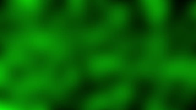 Green blurred blinking pattern video