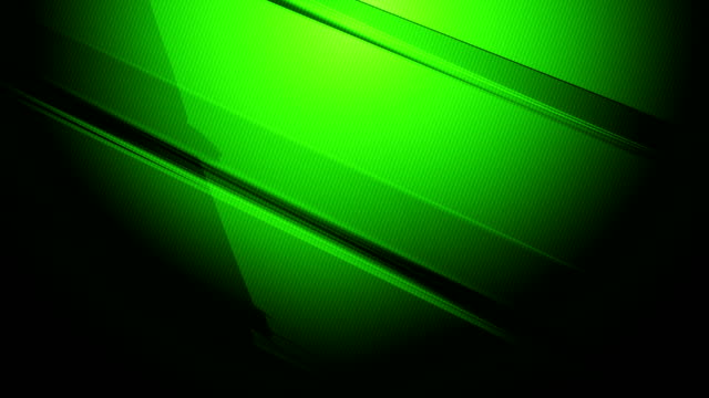 Green diagonal 3d rectangular sharp prisms and cuboids slowly turning and spinning around on a colored gradient background 4k loopable motion video for technology, communication, transitions, party-social events, celebration events, finance, data concepts