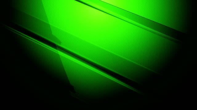 grüne diagonale rechteckige scharfe prismen und quader langsam drehen und drehen sich auf einem farbigen farbverlauf hintergrund 4k loopable bewegung video für technologie, kommunikation, übergänge, party-soziale veranstaltungen, feierveranstaltungen,  - rechteck stock-videos und b-roll-filmmaterial