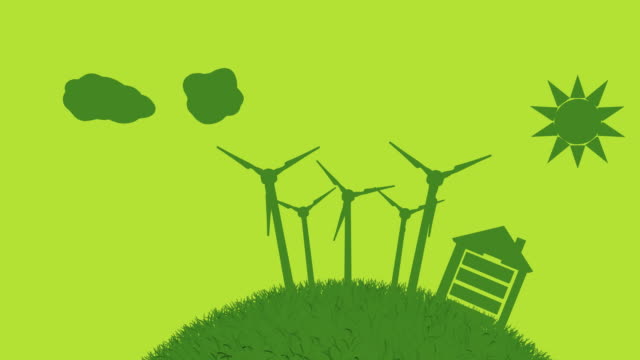 Green Energy World Concept (Loopable) video