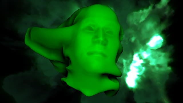 green face HD video