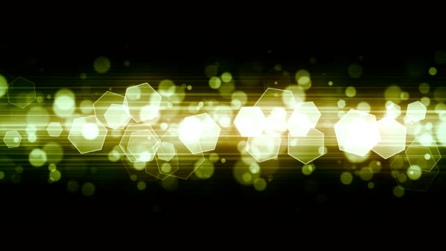 Green Fashion Light Glitters Glowing broadcast light hexagons moving animation which is suited for broadcast, commercials and presentations. It can be used also in Fashion, Photography or Corporate animations {{asset.href}} stock videos & royalty-free footage