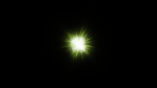 зеленый фон праздник фейерверков, альфа png - fireworks стоковые видео и кадры b-roll
