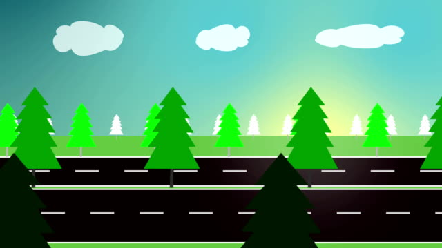 Green Forest (Loopable) video