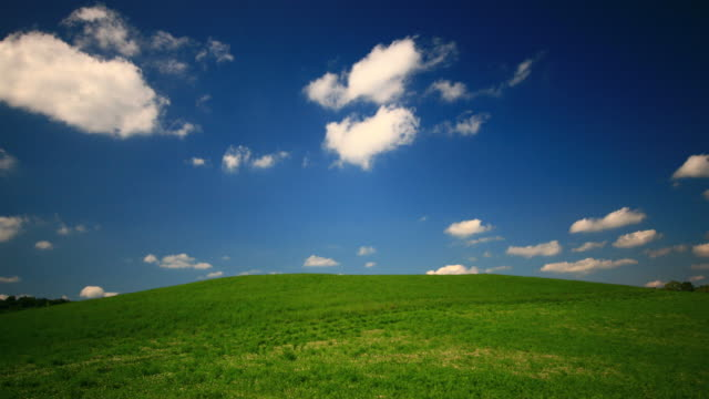 Green Hill and Blue Sky video