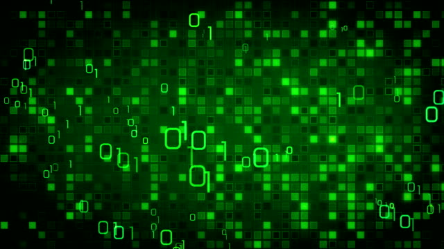 green information technology loopable background video