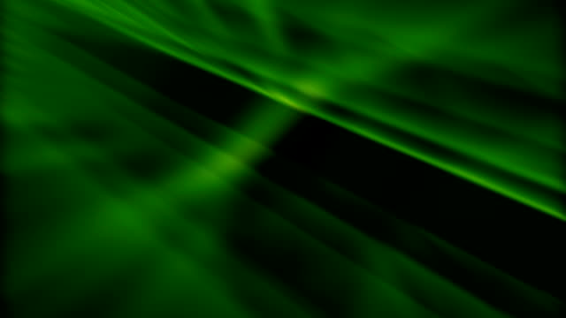 Green light abstract video