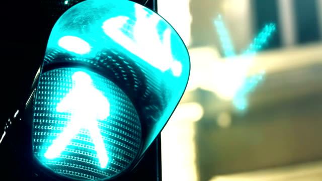 Green light to pedestrians