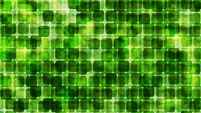 Green Retro Squares video