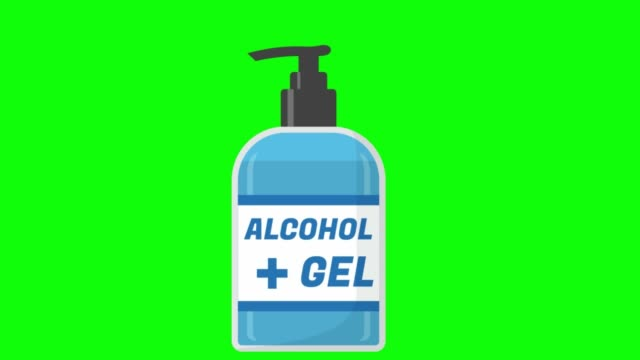 green screen , corona virus ,  cleaning hands alcohol gel green screen , corona virus ,  cleaning hands alcohol gel covid icon stock videos & royalty-free footage