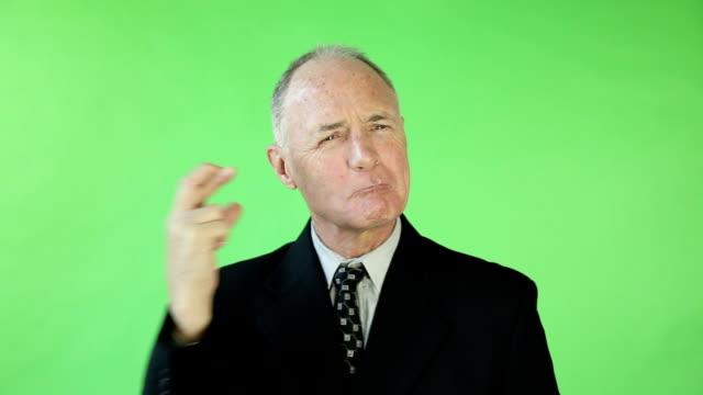 green screen fingers crossed video