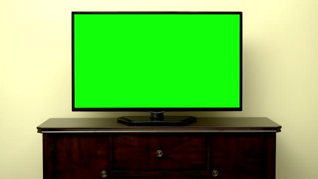 TV Green Screen Pan video