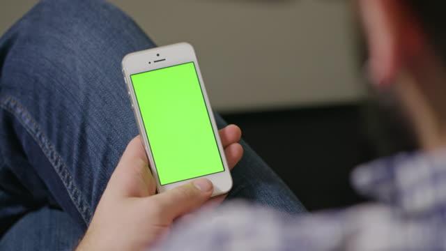 Green Screen Phone Man video
