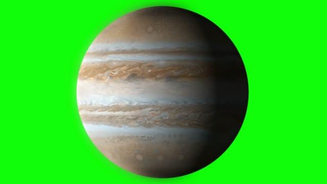 green screen , planet , jupiter - jowisz filmów i materiałów b-roll