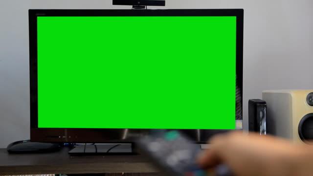 Green screen tv video