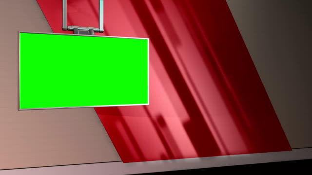 Green Screen Virtual News Studio 12 Template video