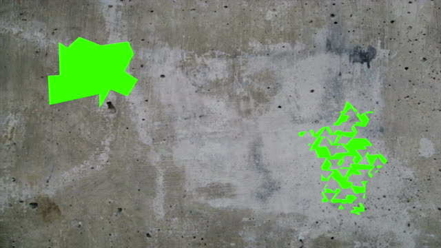 Green Screen Wall Smash video