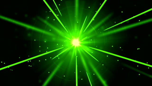 Green Shooting Light Streaks Light streaks flowing with light particles background animation suited for broadcast, commercials and presentations. It can be used also in Fashion, Photography or Corporate animations. {{asset.href}} stock videos & royalty-free footage