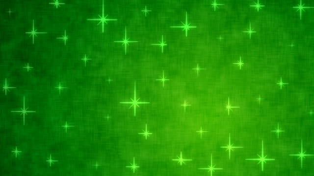 Green stars video