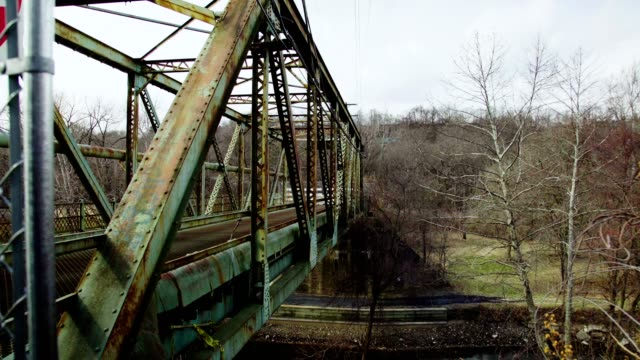 Green steel bridge video