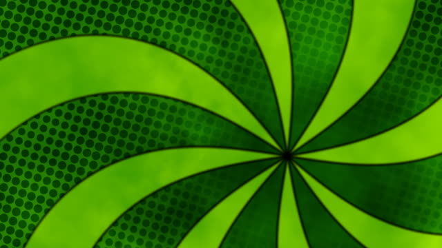 Green Swirl video
