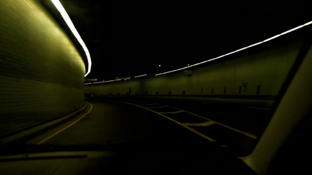 Green tunnel. video