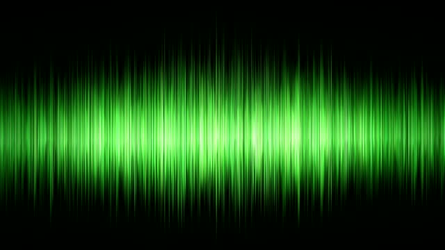 Green waveform video