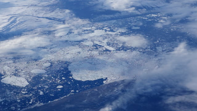 Greenland and Arctic Aerial video