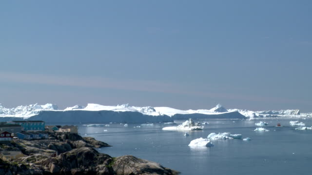 Greenland Icebergs video